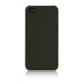Belkin F8Z891cwC00 essential 025 acrylic plastic cover case for iPhone 4 / 4S Black