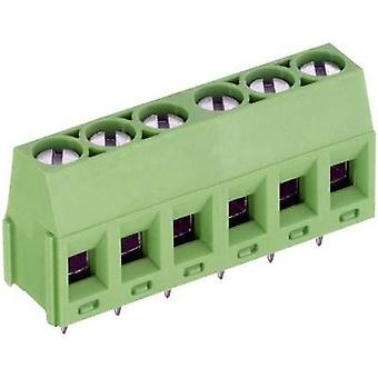 Screw terminal 1.50 mm² Number of pins 4 AK350/4-5.0-V PTR Green 1 pc(s)