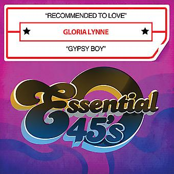 Gloria Lynne - Recommended to Love / Gypsy Boy USA import