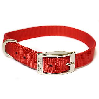 CANAC Single kraag 25mmx45 - 55cm Red
