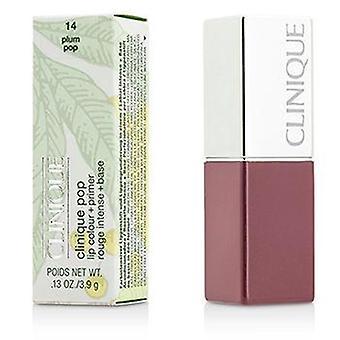 Clinique Pop Lip Colour + Primer - # 14 Plum Pop - 3.9g/0.13oz