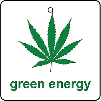 Green Energy Car Air Freshener
