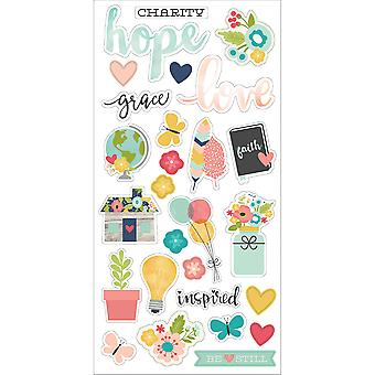 Faith Chipboard Stickers 6