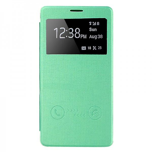 Smart cover window green for Samsung Galaxy touch 4 N910 N910F