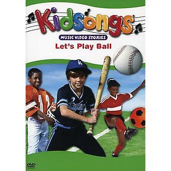 Kidsongs - Lad os spille bolden [DVD] USA import