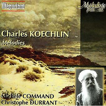 Charles Koechlin - Charles Koechlin: M Lodies [CD] USA import