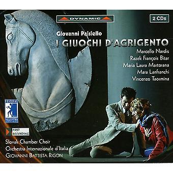 G. Paisiello - Paisiello: I importación USA Giuochi D'Agrigento [CD]