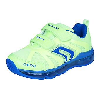 Geox J Android B Boys Trainers / Shoes - Yellow