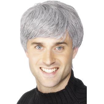 Parrucca di capelli grigi cielo voi grigio parrucca capelli corti di Mont