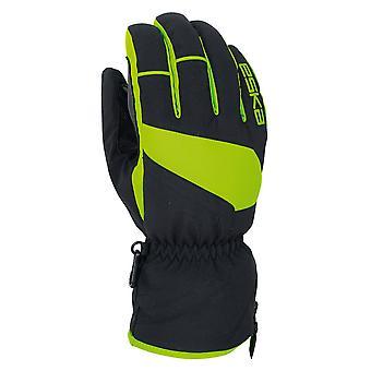 Eska Mykel Ski--Winterhandschuh schwarz-grün