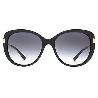 Bvlgari Metal Circle Hinge Sunglasses In Black