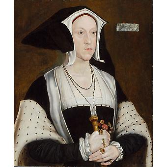 Hans The Younger - Lady Margaret Wotton Poster Print Giclee