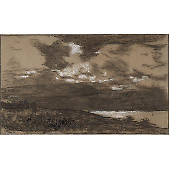 Winslow Homer - Stormy Sky Poster Print Giclee