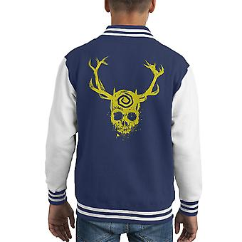 True Detective Yellow King Kid Varsity Jacket