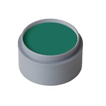 Maquillaje y pestañas maquillaje de agua verde puro