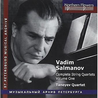 Taneyev String Quartet - Salamov: Komplet strygekvartetter 1 [CD] USA import