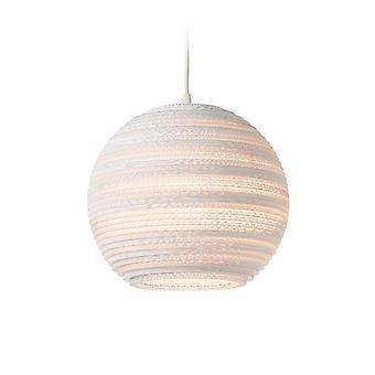 Graypants White Drop Pendant Light 26