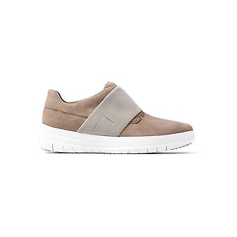 Women's Sporty-Pop Slip-On undervisere - ørkenen sten ruskind