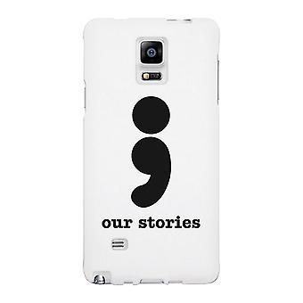 Unsere Geschichten-links weiße Schutzhülle