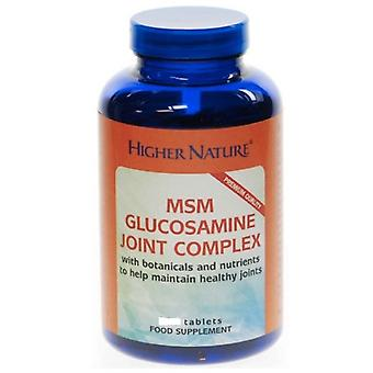 Higher Nature MSM Glucosamine Joint Complex, 90 veg tabs