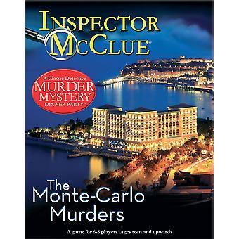 Inspector McClue asesinato misterio - los asesinatos de Monte Carlo