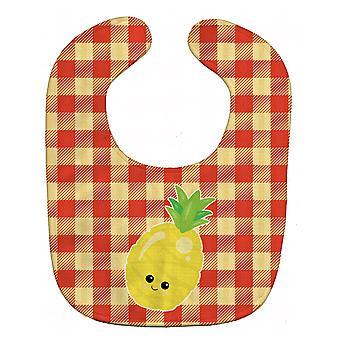 Carolines schatten BB6992BIB ananas gezicht Baby slabbetje