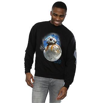 Star Wars mannen de laatste Jedi BB-8 geborsteld Sweatshirt