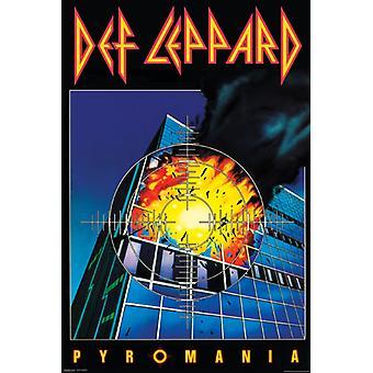 Def Leppard - Pyromania Poster Poster Print