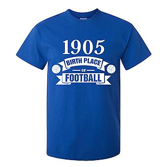 Chelsea födelse av Football T-shirt (blå)
