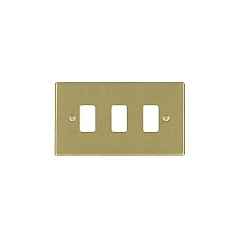 Hamilton Litestat Hartland Satin Brass 3g Apert Gridfix Plate+Grid