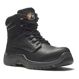 V12 VR600.01 Sz 13 Bison Igs S3 Black Safety Boot Fully Composite