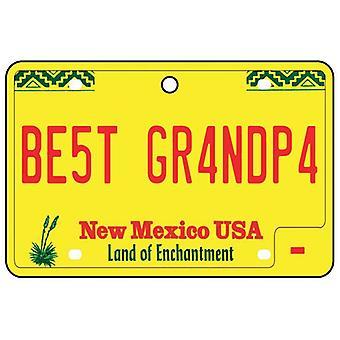 New Mexico - beste opa License Plate auto luchtverfrisser