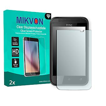 HTC G2 Screen Protector - Mikvon Clear (Retail Package with accessories)