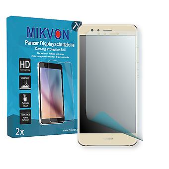 Huawei P10 lite Screen Protector - Mikvon Armor Screen Protector (Retail Package with accessories) (intentionally smaller than the display due to its curved surface)