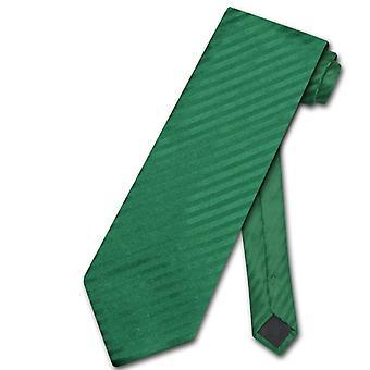 Vesuvio Napoli NeckTie Vertical Stripes Design Men's Neck Tie