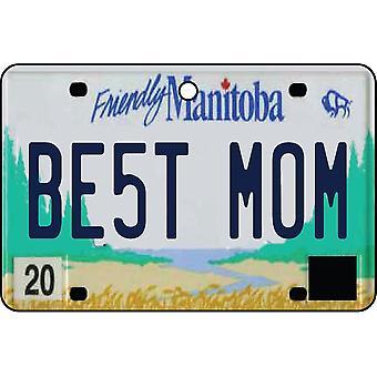 MANITOBA - bästa mamma registreringsskylt bil luftfräschare