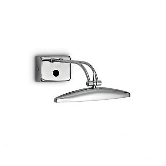 Ideal Lux Large Chrome Picture Light, 2 X G9, 25cm