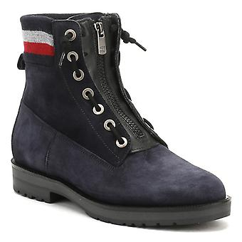 Tommy Hilfiger Womens Midnight Blue West 9B1 Ankle Boots
