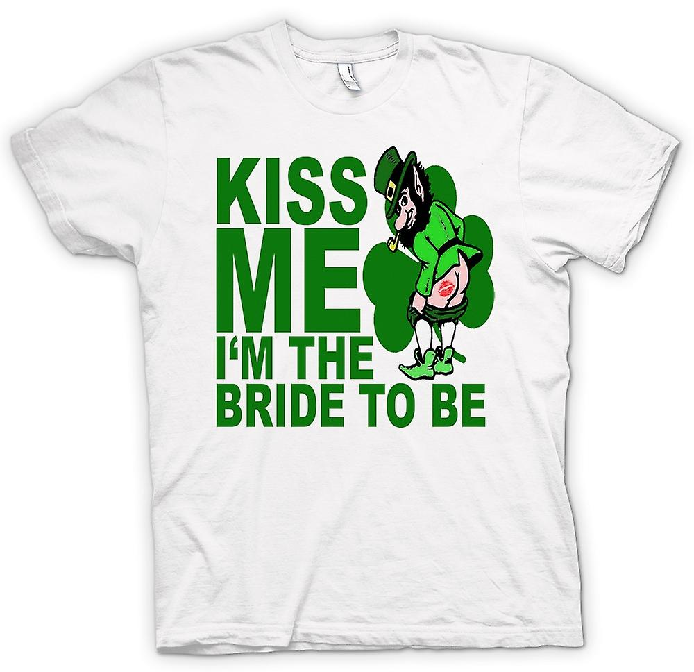 Femmes T-shirt - St Patricks Day Irish Kiss Me - drôle
