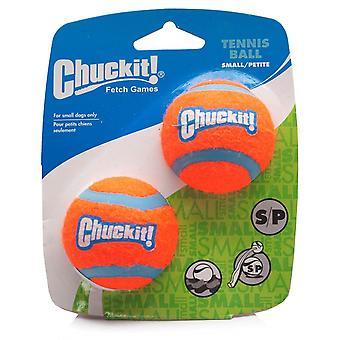 Chuckit Dog Tennis Ball Small 4.8cm, 2 per pack, Dog Puppy Toy