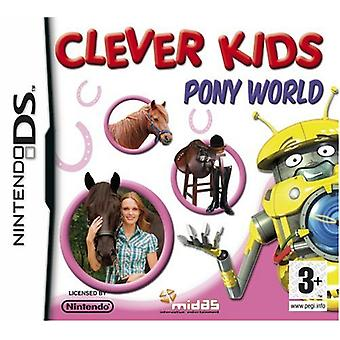 Clever Kids Pony World (Nintendo DS)