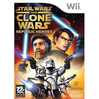 Star Wars The Clone Wars - Republic Heroes (Wii)