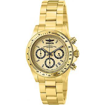 Invicta Speedway 14929 rostfritt stål kronograf klocka