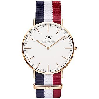 Daniel Wellington mannen Cambridge 40mm horloge 0103DW