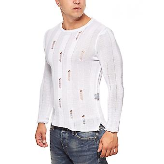 CARISMA summer muscle sweater fitness men's White