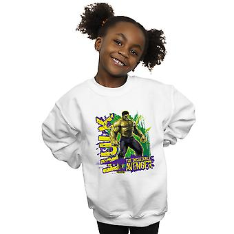 Marvel Girls Avengers Hulk Incredible Avenger Sweatshirt