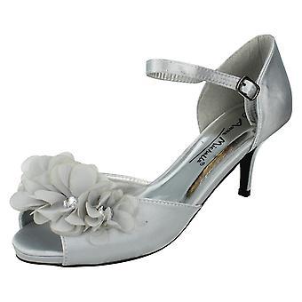 Kära Anne Michelle sandaler L2205 Silver storlek 5 UK