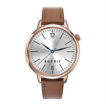 ESPRIT ladies watch bracelet watch Light brown Rosé ES906562001