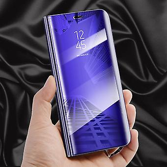 For Samsung Galaxy J5 J530F 2017 clear view mirror mirror smart cover purple protective case cover pouch bag case new case wake UP function