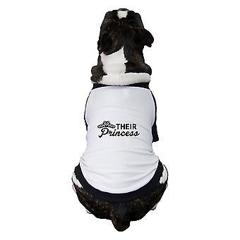 その姫のペット野球ラグラン面白い小型犬オーナー ギフト